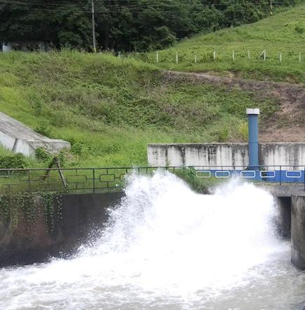 El canal tendrá agua para un día