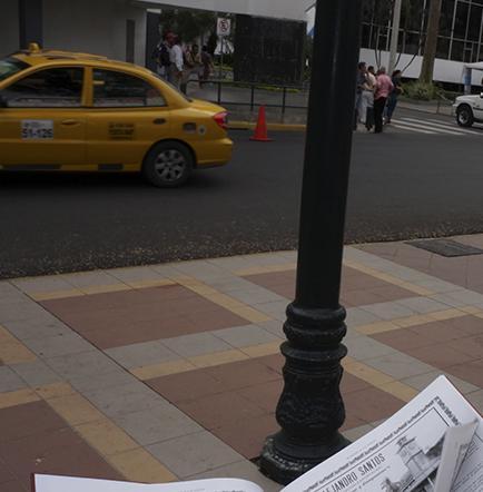 Tony Touma impulsa  difusión del primer libro publicado en Manabí