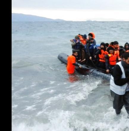 18.882 refugiados cruzaron el Mediterráneo en los primeros días del 2016