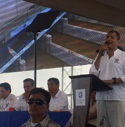 """Correa: 'Ecuador está preparado para afrontar el fenómeno de El Niño"""""""