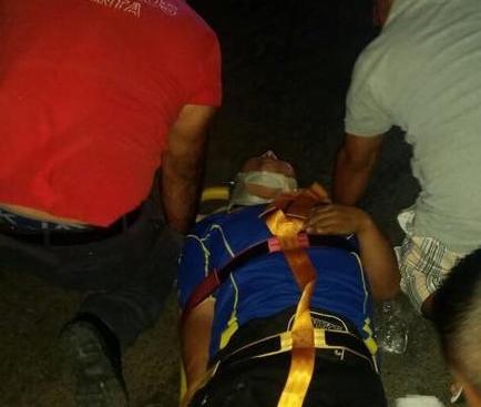Cuatro heridos en tres accidentes de tránsito