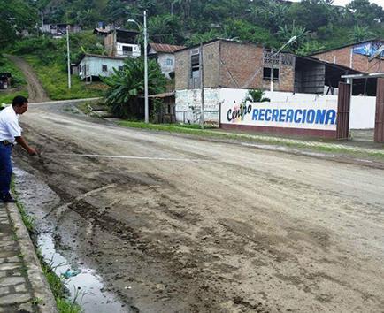 1.500 metros de calles de la parroquia San Isidro recibirán asfalto