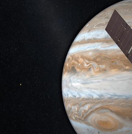Juno se convierte en la nave impulsada por energía solar que llega más lejos