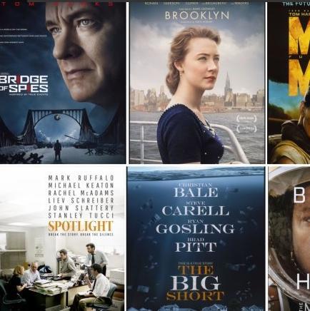 Conoce más de las películas nominadas a los premios Oscar 2016 (VIDEOS)