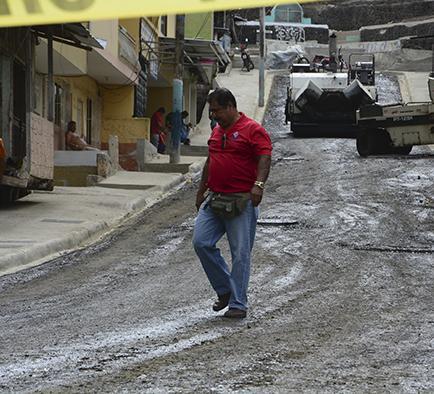 Culminan las obras de mejoramiento en calles de la Francisco Pacheco