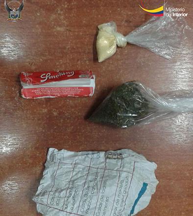 Caen con marihuana, cocaína y heroína
