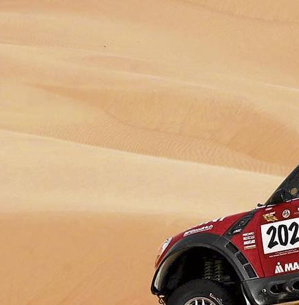 El mini all4: un guerrero del desierto
