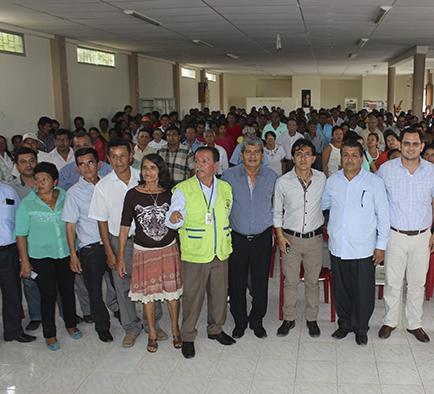 Paján y Santa Elena se  reúnen para abrir vía rural interprovincial