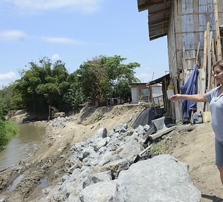 Tasa de gestión de  riesgo es para obras de prevención, colinas y río