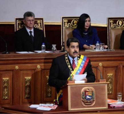 Maduro llama a la 'unión nacional' para afrontar la emergencia económica