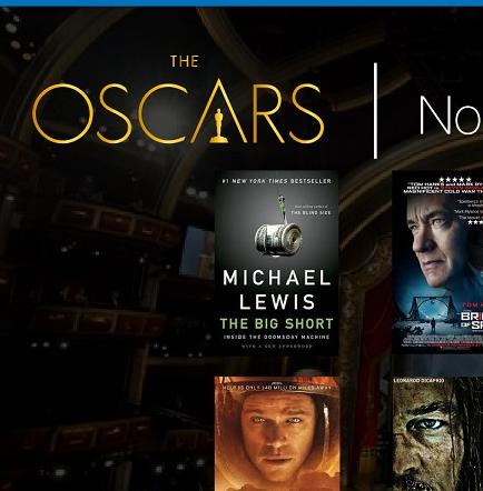Revelan nominados a los Oscar 2016