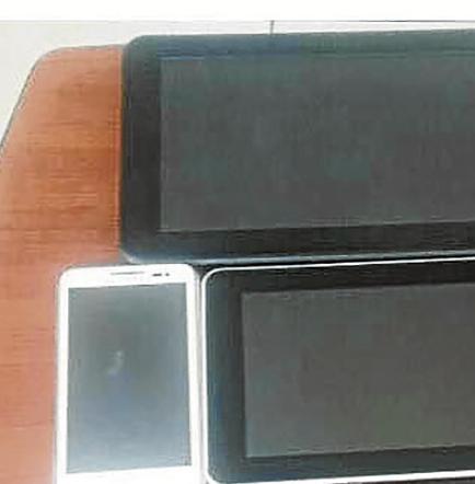 Incautan  tres tablets y ocho celulares