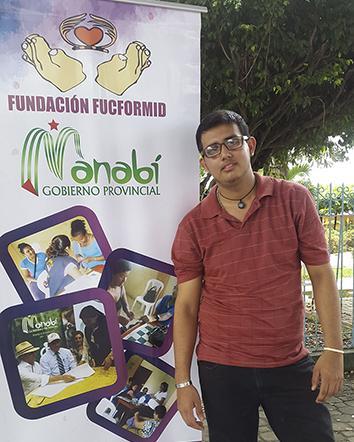 Joven con discapacidad intelectual representó al país en seminario