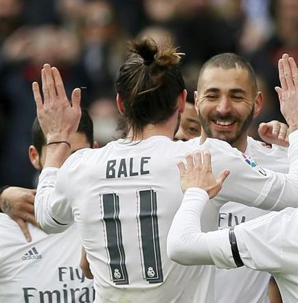 El Real Madrid golea por 5-1 al Sporting de Gijón