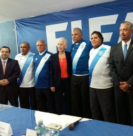 Claverí es el nuevo seleccionador de Guatemala