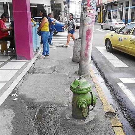 Portoviejo necesita unos 300 hidrantes