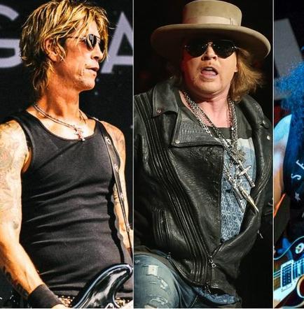 Guns N' Roses actuará dos veces en Las Vegas
