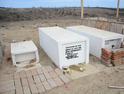 Cuatro años para exhumar cuerpos en La Revancha