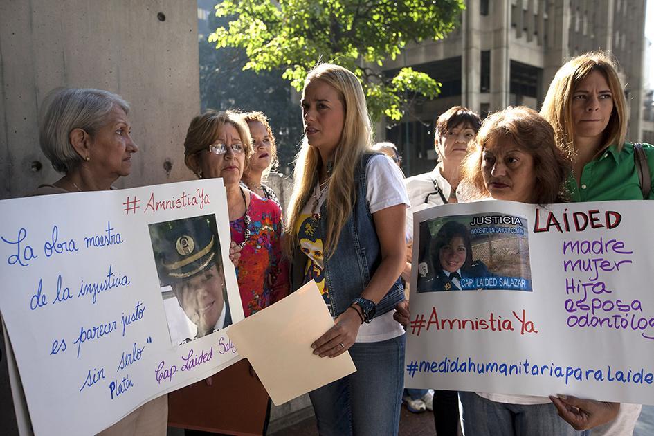 Lilian Tintori y madre de López narraron agresiones en cárcel de Ramo Verde (VIDEO)