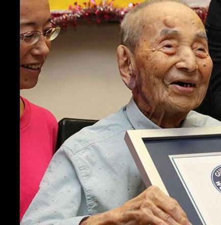 El hombre más longevo del mundo muere a los 112 años