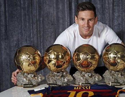 Messi: 'No me obsesiona el Balón de Oro'