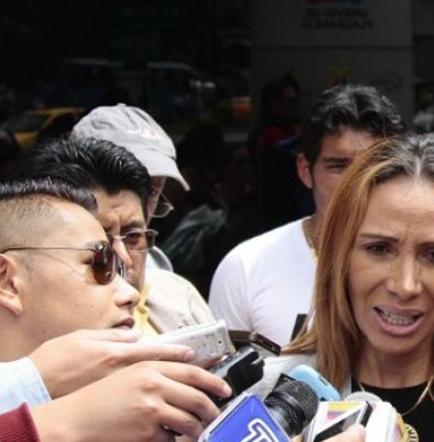 Lucía Vallecilla deja caso  del presidente de la FEF