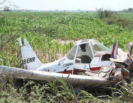 Una avioneta se estrella contra una furgoneta en Brasil y deja cinco muertos