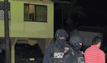 Dos hombres fueron detenidos por el presunto delito de for Porte y tenencia de armas