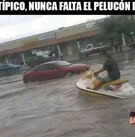 Memes sobre inundación en Guayaquil invadieron las redes