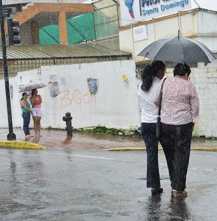 Lluvias se concentran en Santo Domingo