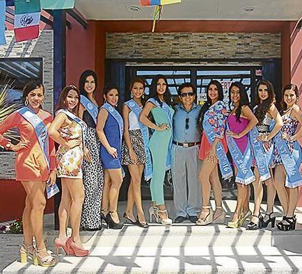 Doce candidatas a reina del carnaval