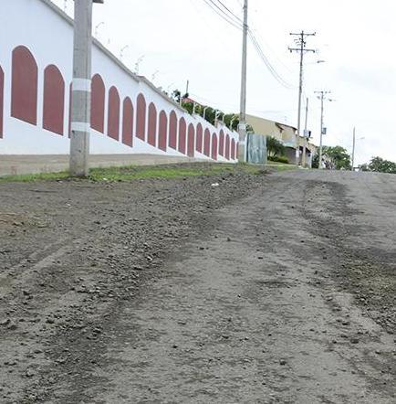 En antigua vía a  Riochico piden nuevo puente sobre canal