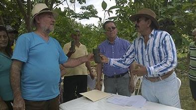 En la parroquia Barraganete recibieron 10 mil plantas de cacao