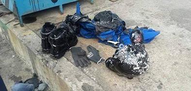 Operador se quema en la Refinería de Esmeraldas