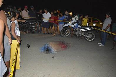 Portovejense muere en choque