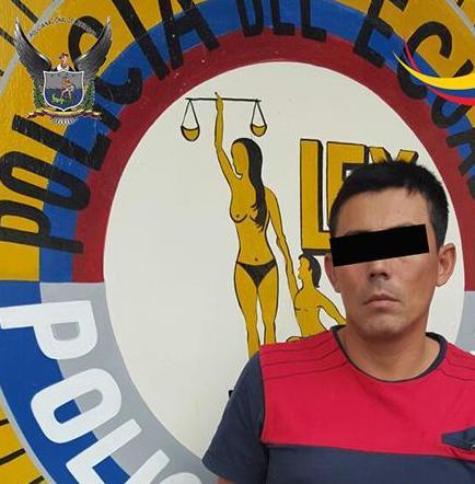 """Uno de los """"Más Buscados"""" se entrega  a las autoridades en Jipijapa"""