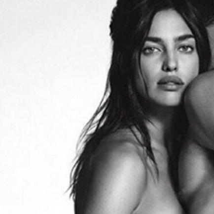 Irina Shayk revela su sensual desnudo para Givenchy