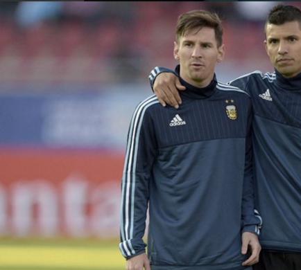 Agüero: 'Le he dicho a Messi que Manchester es el sitio ideal para jugar'