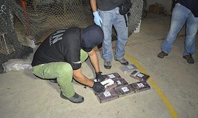 Buscan más droga en cuatro contenedores