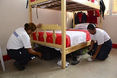 Se forman los nuevos bomberos
