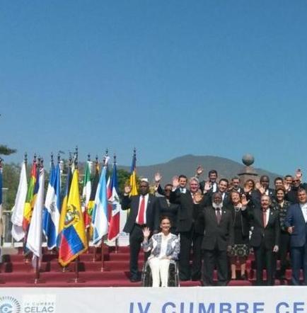 El presidente Correa inaugura la IV cumbre de la Celac