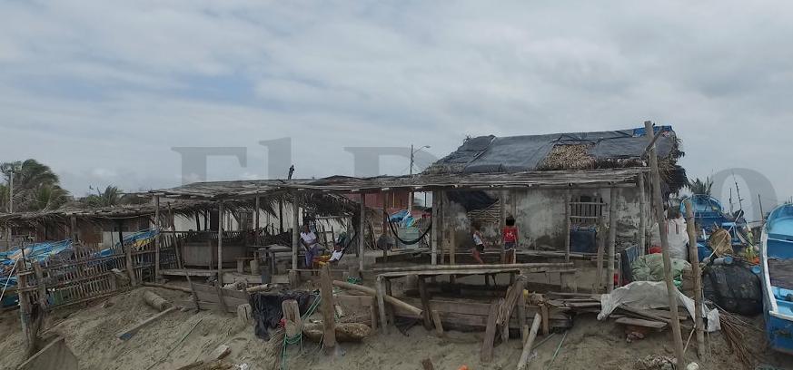 Los Ranchos, la comunidad de Crucita que está en emergencia por los aguajes