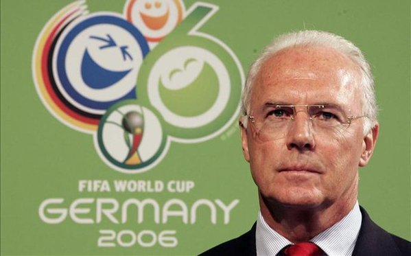 Piden indemnización a Beckenbauer y FIFA por Mundial 2006