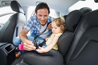 Viaja con niños  de forma segura
