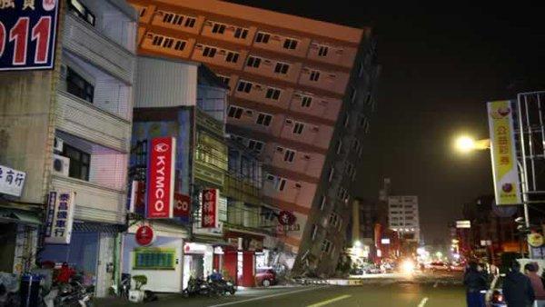 Tres muertos, más de 115 heridos y atrapados por terremoto en Taiwán