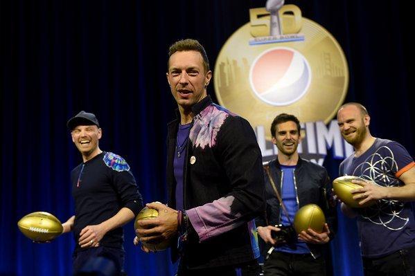 Coldplay reconoce trascendencia de cantar en el Super Bowl
