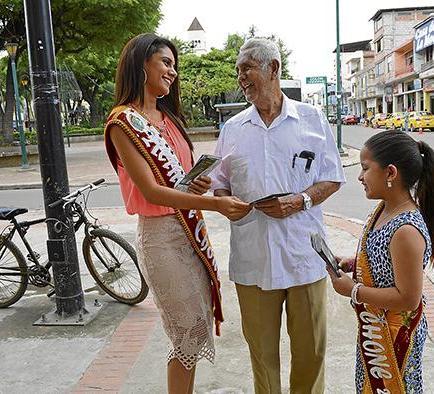 Realizan una campaña para promocionar el  turismo en Chone