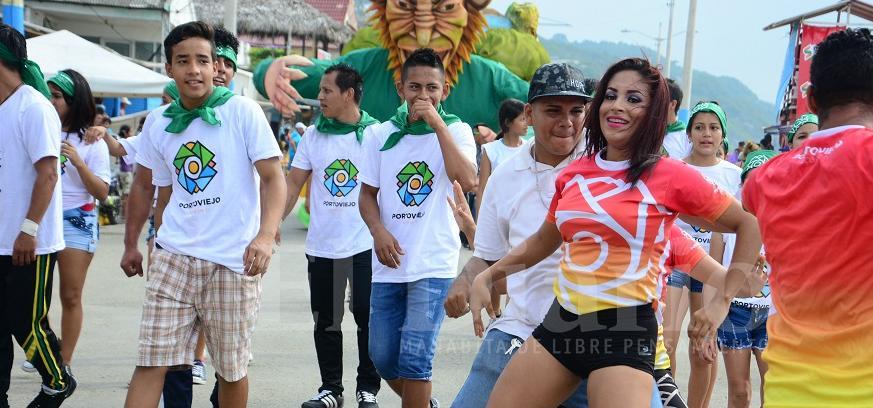 Portoviejo: El Carnaval ya se vive con intensidad en Crucita