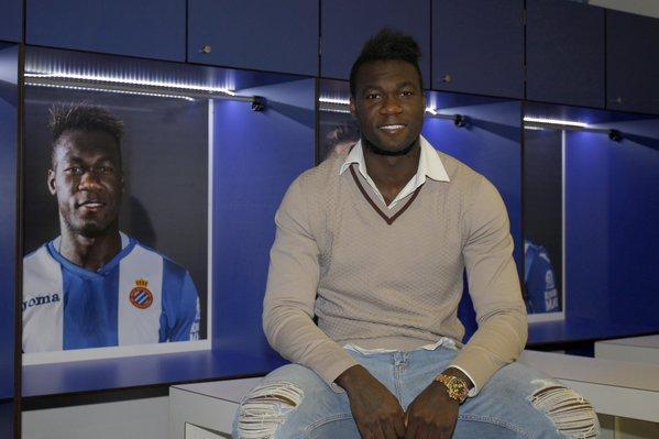 Felipe Caicedo pide disculpas a la afición del Espanyol