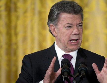 Santos dice que fin de conflicto colombiano ayudará en lucha antinarcóticos